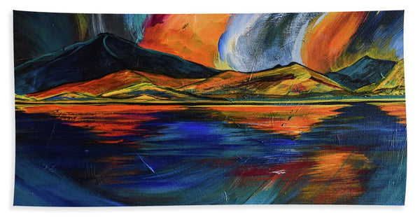 Mountain Reflections   - Beach Towel