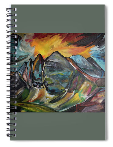 MT Cowen  - Spiral Notebook