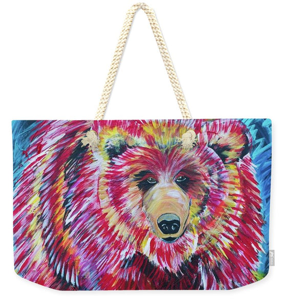 Odin-Grizzly - Weekender Tote Bag