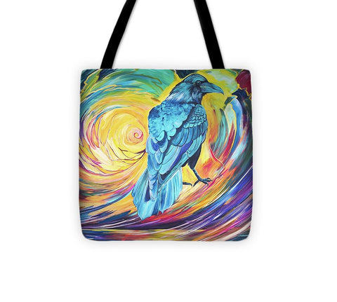 Odin's Messenger - Tote Bag