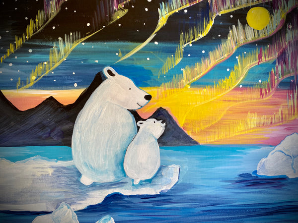 Paint a Polar Bear with Polar Bears International (and myself)!