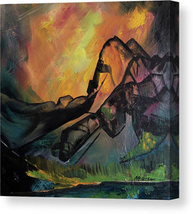 Rage 4, Mount Cowen - Canvas Print