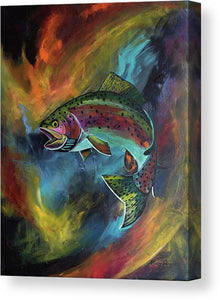 Rage Fish - Canvas Print
