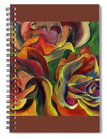 Red Roses - Spiral Notebook
