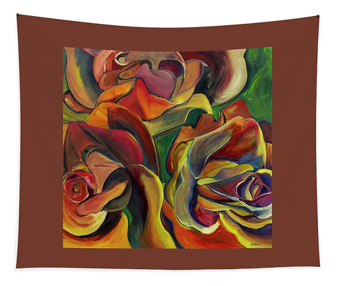 Red Roses - Tapestry