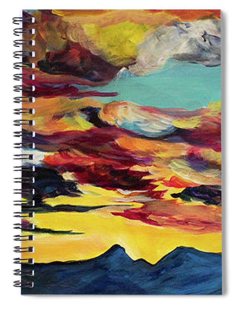 Ross Peak - Spiral Notebook