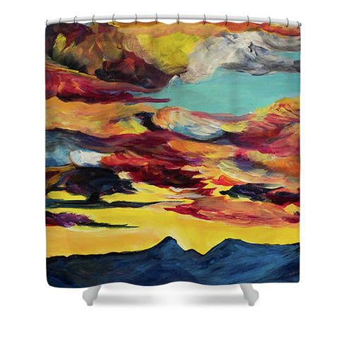 Ross Peak - Shower Curtain