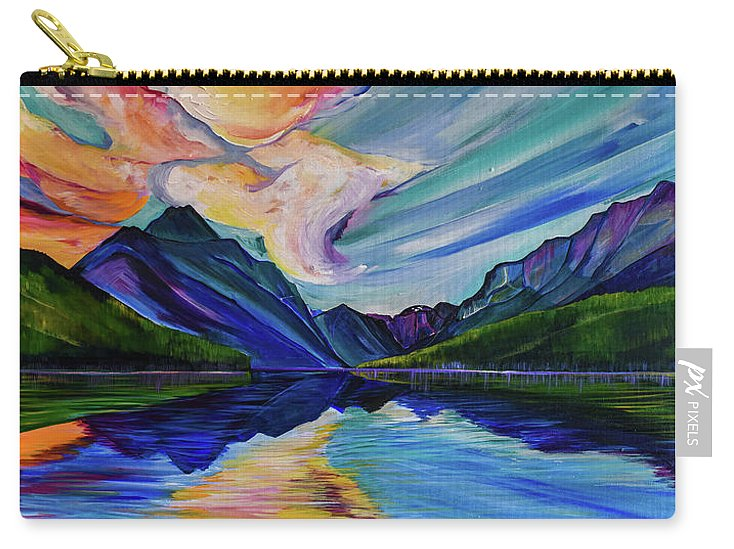 Saint Mary's Lake - Carry-All Pouch