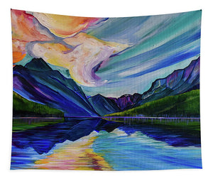 Saint Mary's Lake - Tapestry