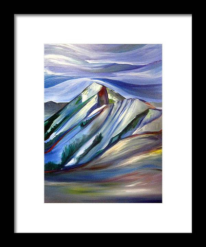 Schlasman's Lift Bridger Bowl - Framed Print