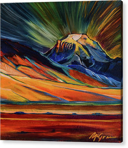 Sphinx Mountain - Acrylic Print