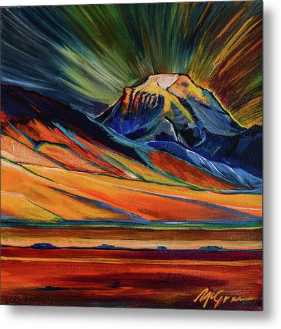 Sphinx Mountain - Metal Print