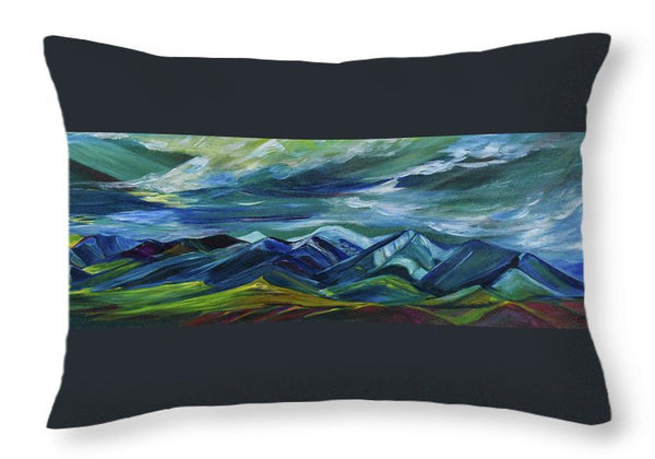 Stormy - Throw Pillow