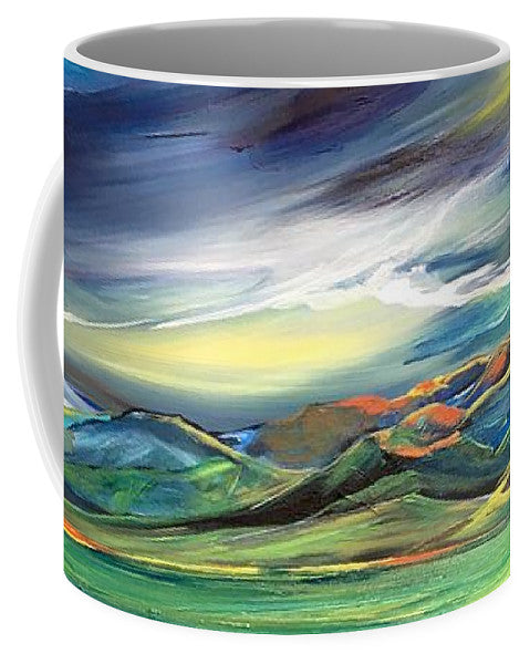 Sun Dancing on the Bridgers - Mug