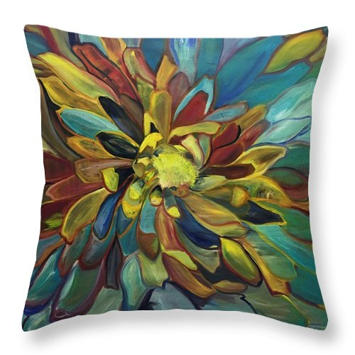Sunflower - Throw Pillow
