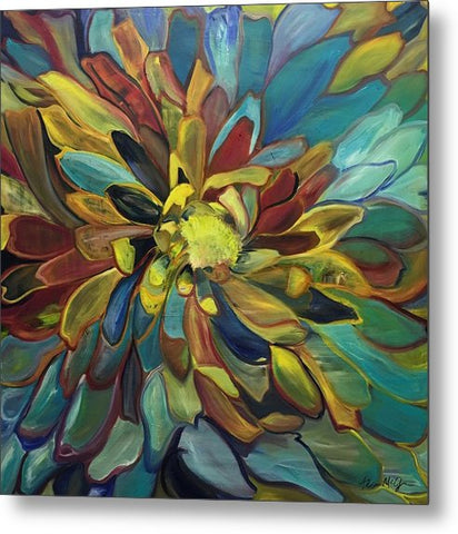 Sunflower - Metal Print