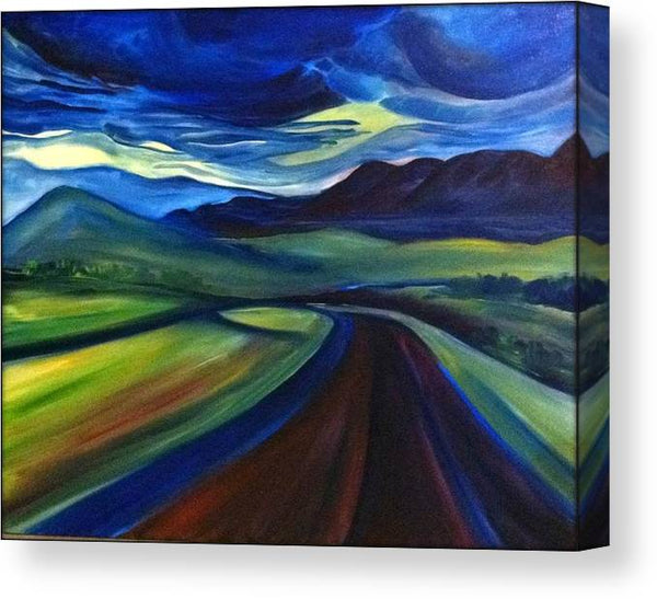 The Open Road - Canvas Print
