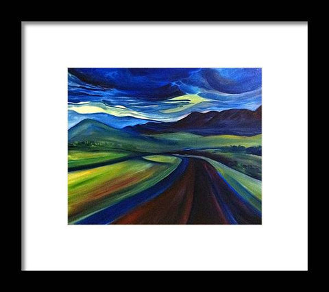 The Open Road - Framed Print