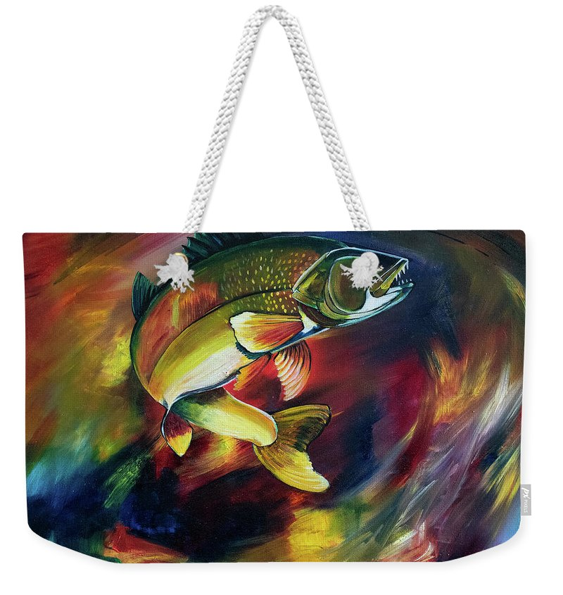Walleye - Weekender Tote Bag