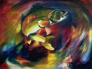 Walleye - Art Print