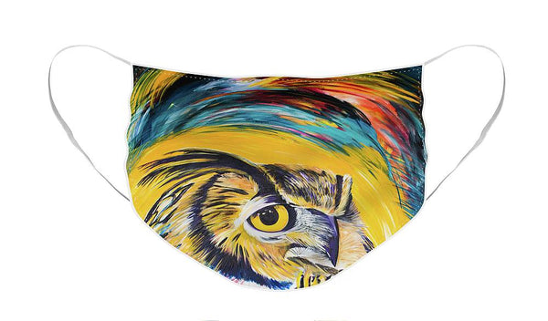 Watchful Owl - Face Mask