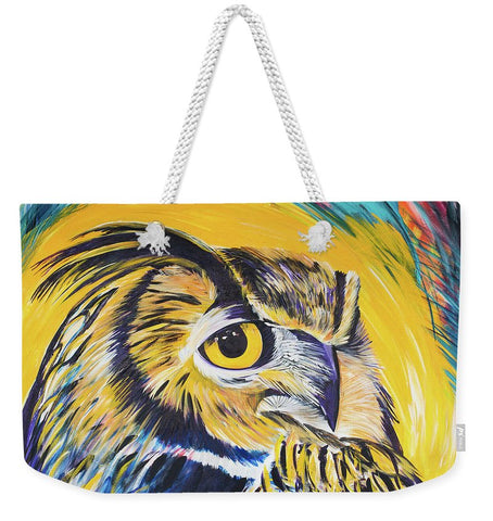 Watchful Owl - Weekender Tote Bag