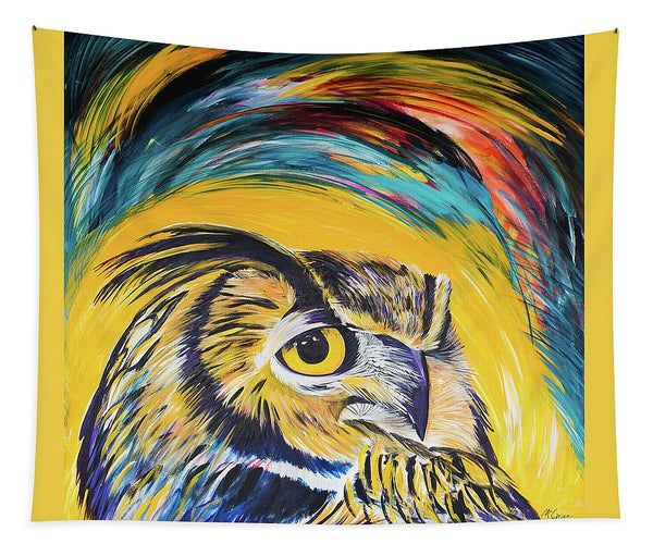 Watchful Owl - Tapestry