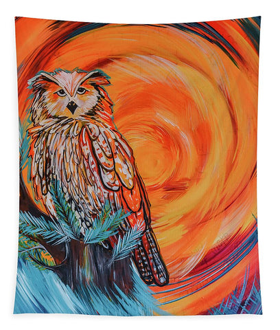 Wise Old Owl - Tapestry