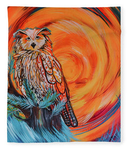 Wise Old Owl - Blanket