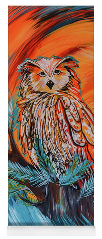 Wise Old Owl - Yoga Mat