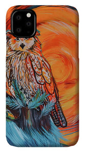 Wise Old Owl - Phone Case