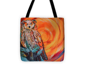 Wise Old Owl - Tote Bag