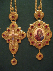 Panagia and Cross