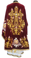Red Priest Embroidered Vestment