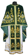 Velvet Priest Embroidered Vestment