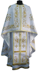 White Priest Embroidered Vestment