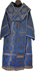 Bishop Vestment Set (Sunny Cross Blue)