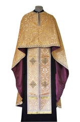Gold Brocade Priest Vestment (Vifaniya)