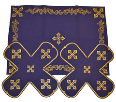 Chalice Cover Set Embroidered (Various Colors & Designs)