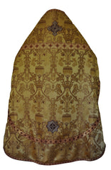 Priest Vestment Brocade Peacock