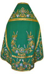 Priest Vestment Embroidered Green