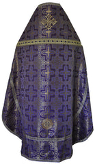 Priest Vestment Kustodia Purple