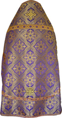 Priest Vestment New Royal Cross (Purple)