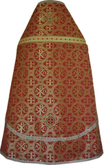 Priest Vestment New Alfa & Omega (Red)