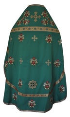 Priest Vestment Green (Embroidered)