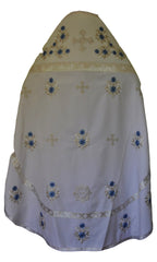 Priest Vestment White (Embroidered)