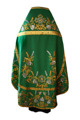 Embroidered Green Vestment
