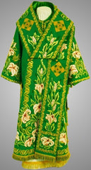 Velvet Embroidered Bishop Vestment