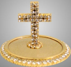 Jeweled Mitre Cross