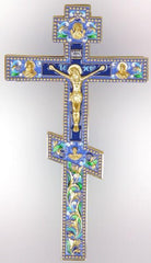 Enamel Blessing Cross